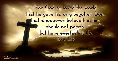 god  loved  world