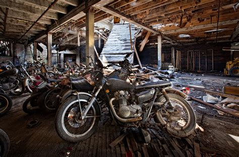 Kohl's Motorcycle Salvage (lockport Ny)  Abandoned America