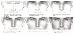 how to draw a nose step by step | Drawing Tutorials ...