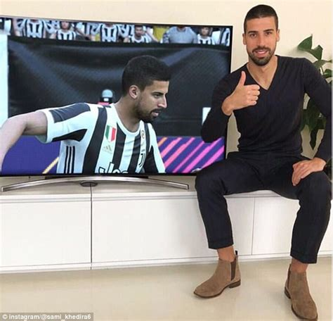 sami khedira pleased  fifa  updating fixing haircut