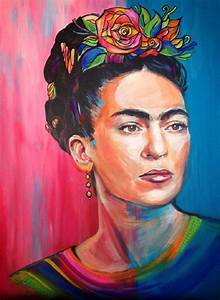 Frida Kahlo contemporary wall art from five female artists ...