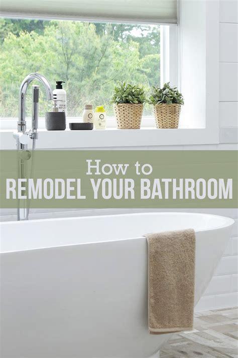diy bathroom remodel  step  step guide budget dumpster