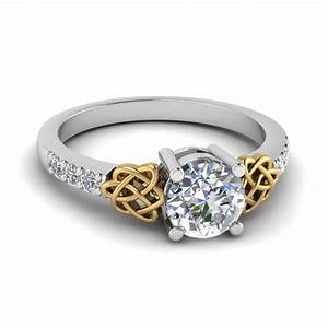 wedding rings big fashion rings two tone bridal sets With engagement ring with two wedding bands