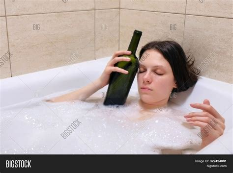 Tired Drunk Young Image And Photo Free Trial Bigstock