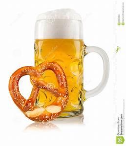 Oktoberfest Beer With Pretzel Stock Photo - Image: 30642650