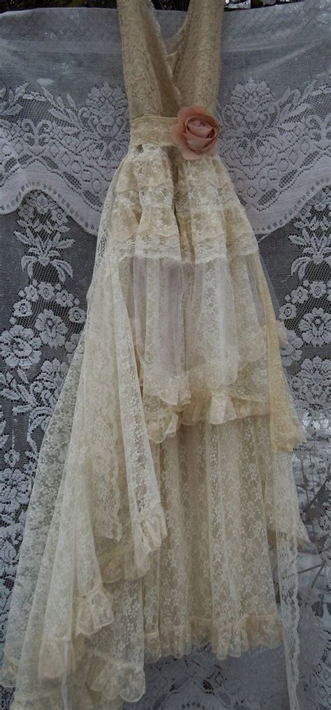 Vintage Opulence by Reserved For Catwomandrg Deposit For Lace Wedding Dress