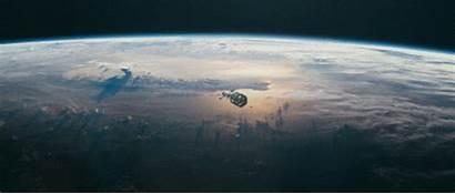 Spaceship Animated Starship Space Sci Gifs Fi
