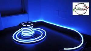 Led neon flex strip led flex IP68 illuminazione led flessibile 20 metri YouTube