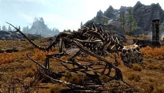 Elder Scrolls Skyrim Dragon