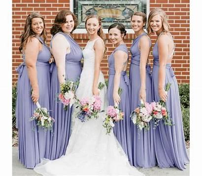 Infinity Bridesmaid Convertible Royal Magenta Jumpsuit Charcoal