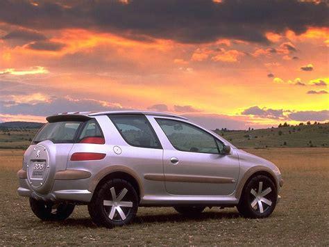 Peugeot 206 Escapade Concept 1998