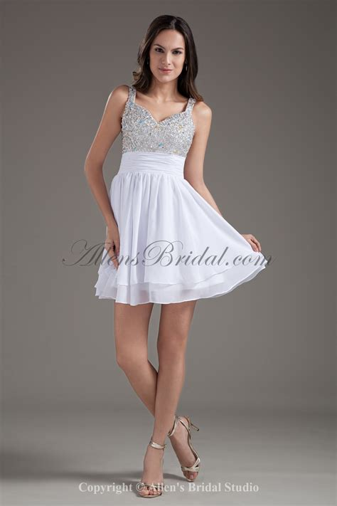 White Cocktail Party Dresses  Dress Ty