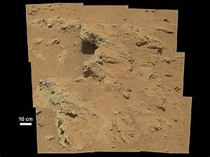 NASA's Mars Curiosity rover discovers ancient Streambed on ...
