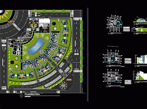 sustaining residential complex dwg block  autocad