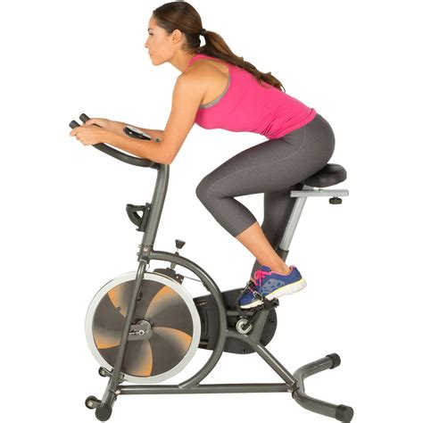 Fitness Reality S275 Indoor Cycling Exercise Bike with 4 ...