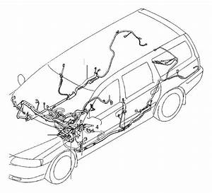 Volvo V70 Wiring Harness  Cabin  Cable Harness  Coupe