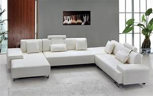 Astounding white leather sectional sofa decorating ideas for White leather sectional sofa decorating ideas