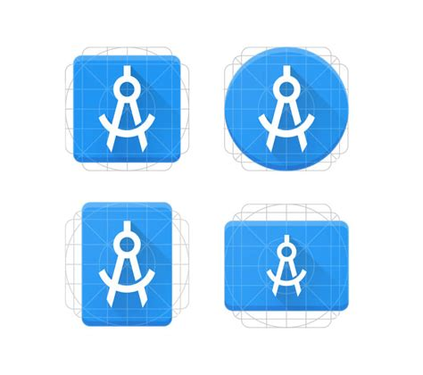 icon template designing android product icons apply pixels