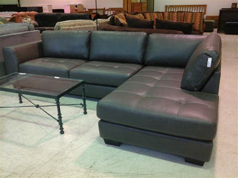 Small Scale Sectional Sofa With Chaise Small Leatherional