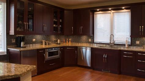 modern brown chocolate painting kitchen cabinets