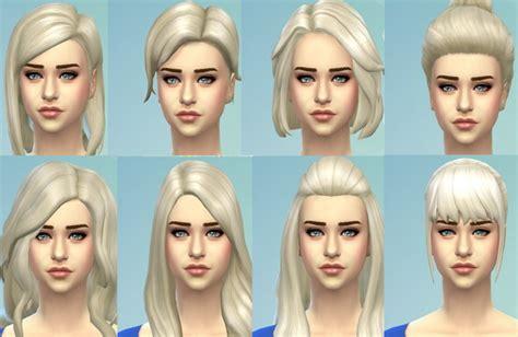 sims  hairs mod  sims targaryen blonde hairstyles