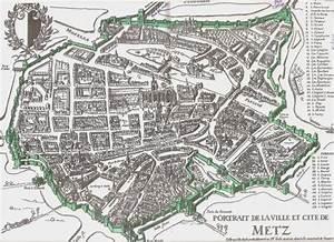 Plan De Metz : 48 1350 plan des murailles de metz ~ Farleysfitness.com Idées de Décoration