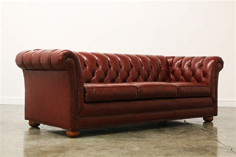 antique tufted leather sofa vintage tufted leather chesterfield sofa vintage supply