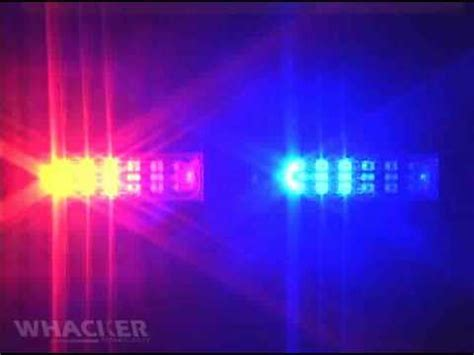 Traffic Cleaner OX LED Police Lights - Flash Patterns ...