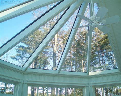 custom skylights roof systems in new england sunspace