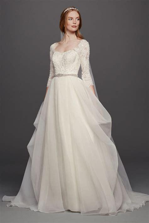 33 trendiest a line wedding dresses everafterguide