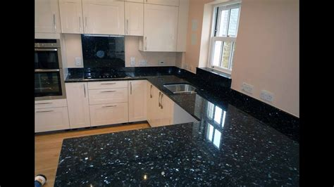 black pearl granite design  counter top wall
