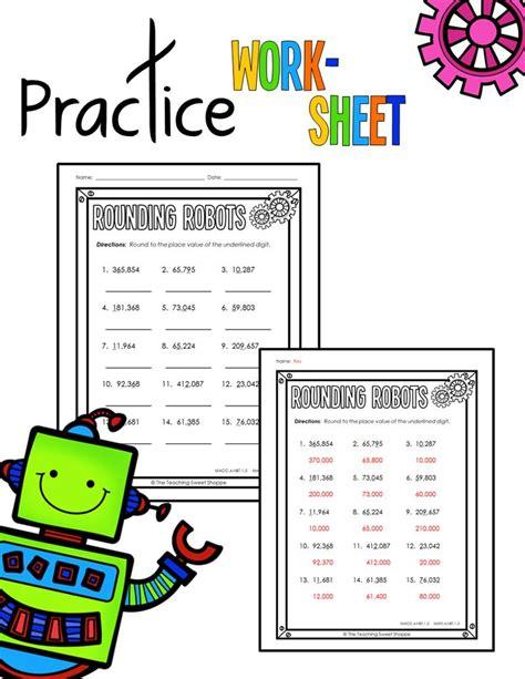 common worksheets 4th grade rounding rounding