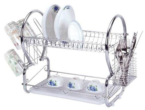 two tier dish rack stainless steel 2 tier dish rack sk collection