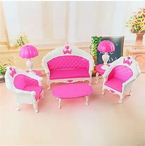 Mini Size Dollhouse Furniture Living Room Parlor Sofa Set