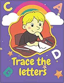 trace  letters  preschoolers  toddlers ages