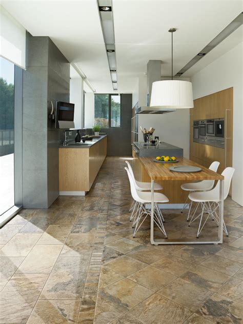 porcelain tile in kitchen tile flooring in the kitchen hgtv 4338