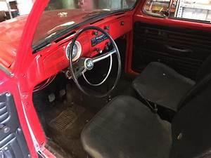 1972 Vw Super Beetle Custom With Lots Of New Parts Paint