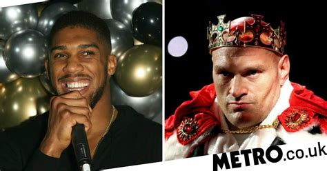Anthony Joshua aims dig at Tyson Fury and tells boxing ...