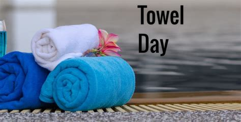 towel day celebrated