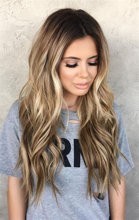 Bronde Hair highlights Balayage hair Hair inspiration