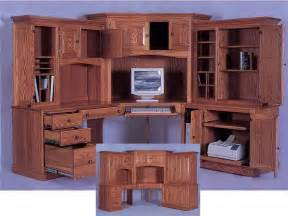corner computer desk with hutch office ideas pinterest