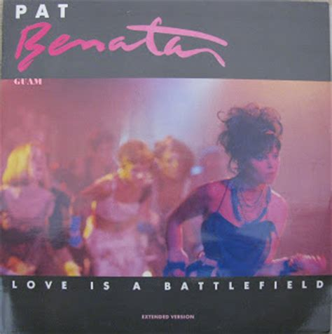 pat benatar is a battlefield my record collection