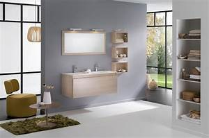 Meuble Style Scandinave : le style scandinave dans la salle de bains inspiration bain ~ Teatrodelosmanantiales.com Idées de Décoration