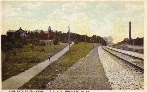 New England Chapter, PRRT&HS - Shippensburg, Pa. Postcard