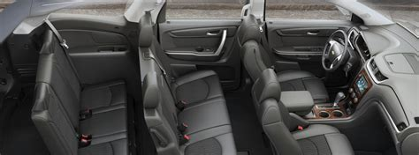 2017 Chevrolet Traverse Seats And Materials