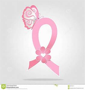 Breast Cancer Awareness Ribbon Icon Stock Illustration ...