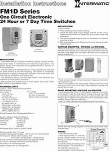Intermatic Light Switch Timer Battery Replacement