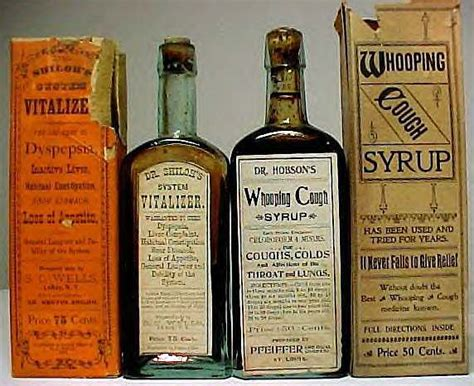 Medicine Cabinet Pharmacy by Labeled Bottles