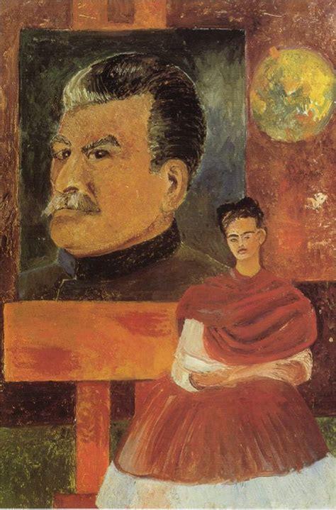 Frida Kahlo, Autoportrait Avec Staline  Frida Kahlo