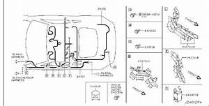 Nissan 350z Harness Main  Wiring  Room  Body